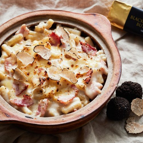 Bacon and Truffle Mac and Cheese