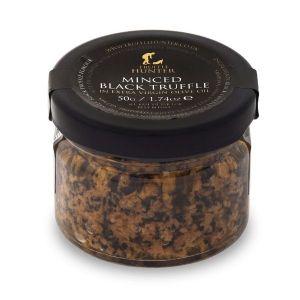 Preserved Minced Black Truffle - Garnish & Seasoning - Gourmet Food