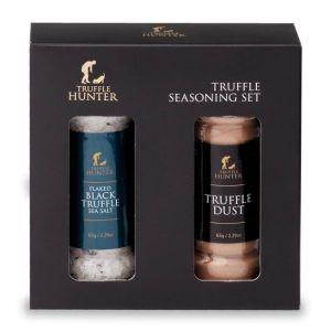 Truffle Seasoning Set - Gift Set - Truffle Dust Shaker & Sea Salt Shaker