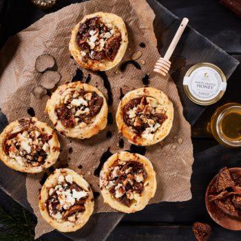Fig and Feta Tartlets