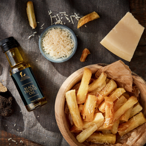 Oven Baked Truffle Parmesan Fries
