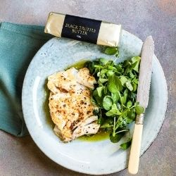 Cod with Truffle Butter