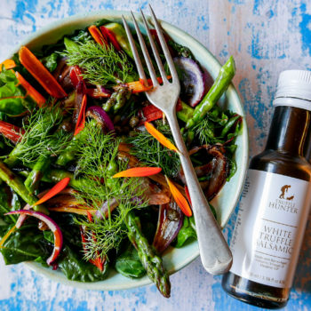 Truffle Chopped Green Salad