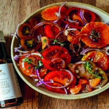 Truffle Tomato and Orange Salad